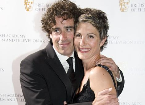 Stephen Mangan (with Tamsin Greig) hosted the ceremony