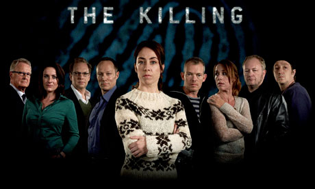 The cast of The Killing