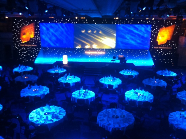 RTS 2012 Pre-awards ceremony