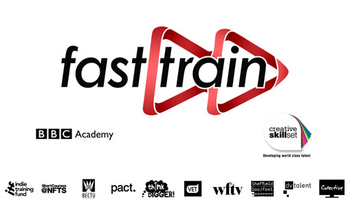 TV Fast Train 2012 logo with other partner logos
